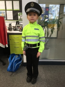 Agata is a police woman!