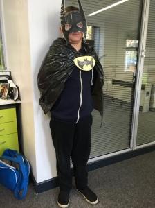 Brandon is Batman!