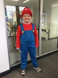 Cameron is Mario!