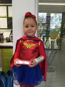 Isla is Wonder Woman!