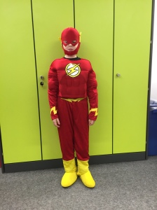Liam is The Flash!
