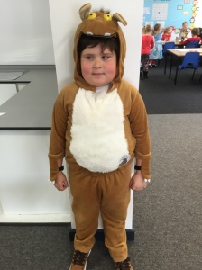 Oliver is a Gruffalo!