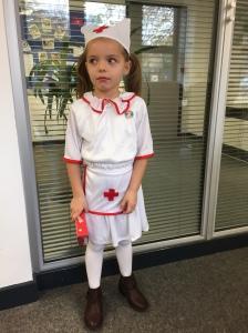 Sienna is a nurse!