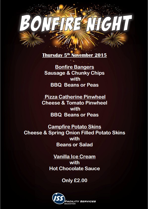bonfire night special lunch the flying bull academy